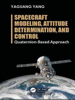 cover image of Spacecraft Modeling, Attitude Determination, and Control